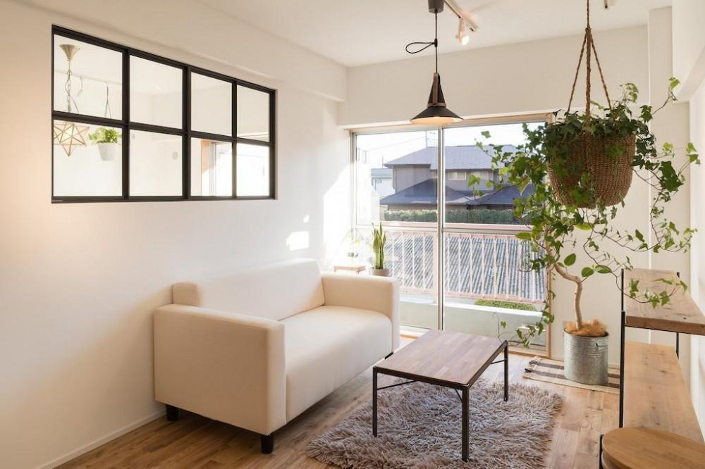 土間のあるヴィンテージマンション (Living Room)