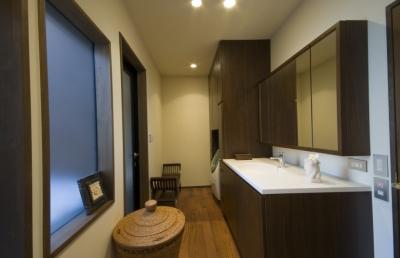 洗面所 (アジアンリゾートを自分の家に/風の家)