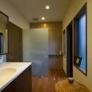 アジアンリゾートを自分の家に/風の家の写真 洗面所