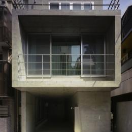 夏目坂の家 (外観)