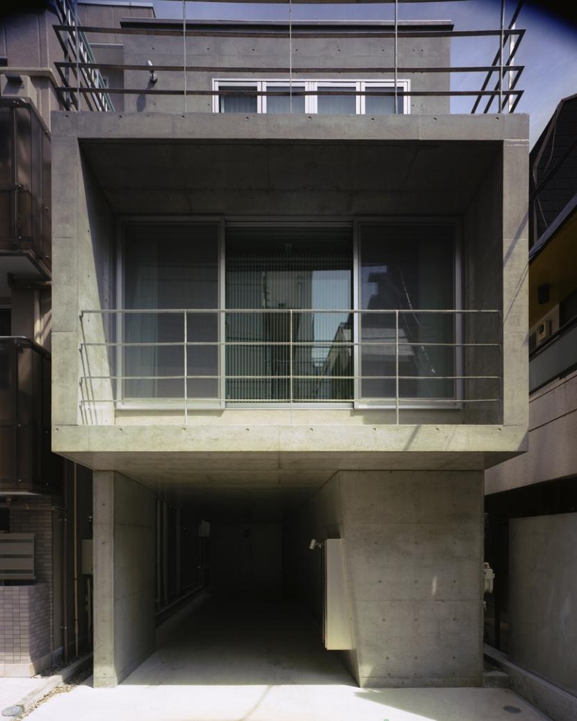 夏目坂の家の部屋 外観
