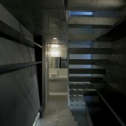 夏目坂の家 (エントランス)
