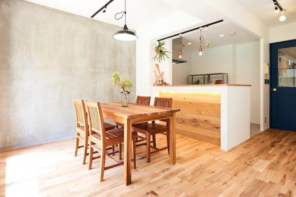 光と緑に包まれる上質な住まい (Dining Room)