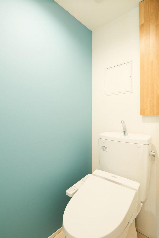 光と緑に包まれる上質な住まい (WC)
