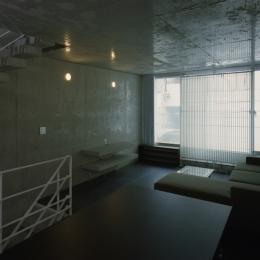 夏目坂の家 (リビング)