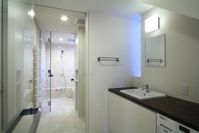 市川の家の部屋 洗面室