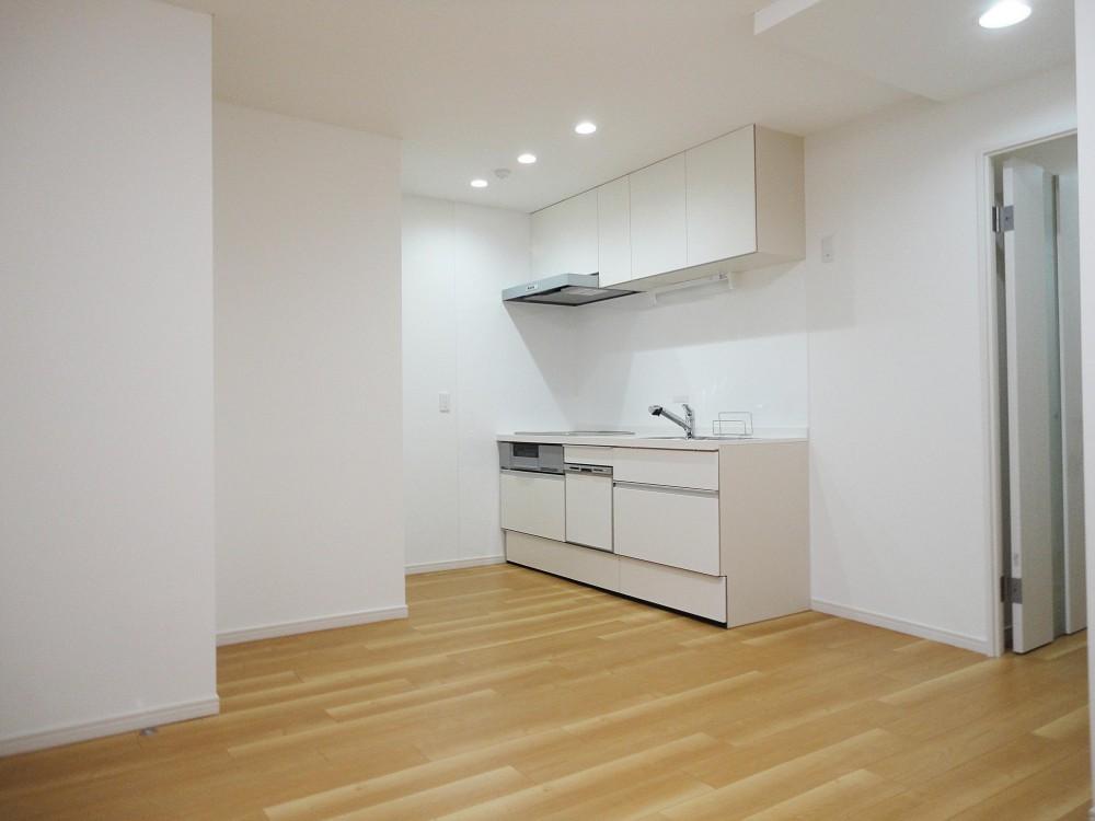 ぬくもり漂うナチュラル空間 (キッチン)