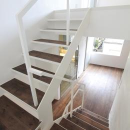 広尾の家 (階段)