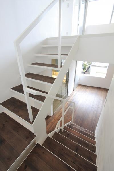 階段 (広尾の家)