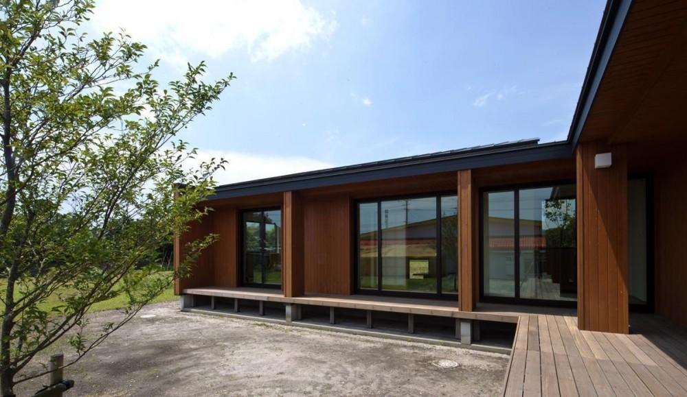 鹿屋の家 (縁側)