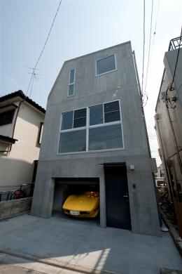 福生の家 (外観)