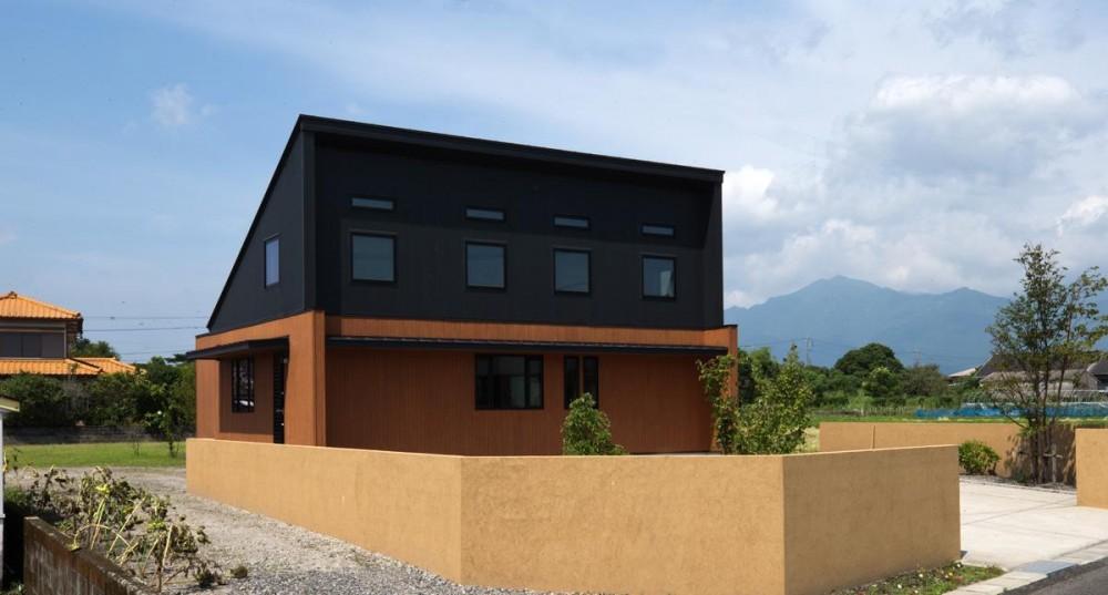 鹿屋の家 (北側外観)