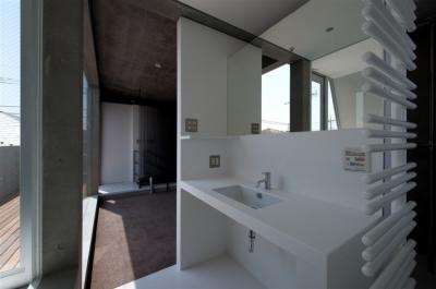 洗面室 (福生の家)