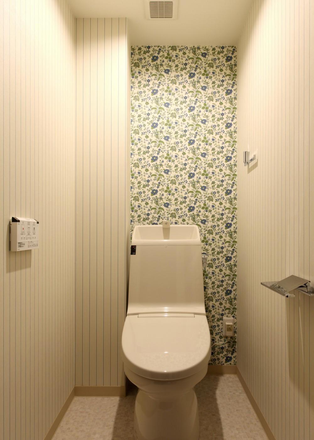 エリアにこだわり家族の成長と共に変化する住まい (トイレ)