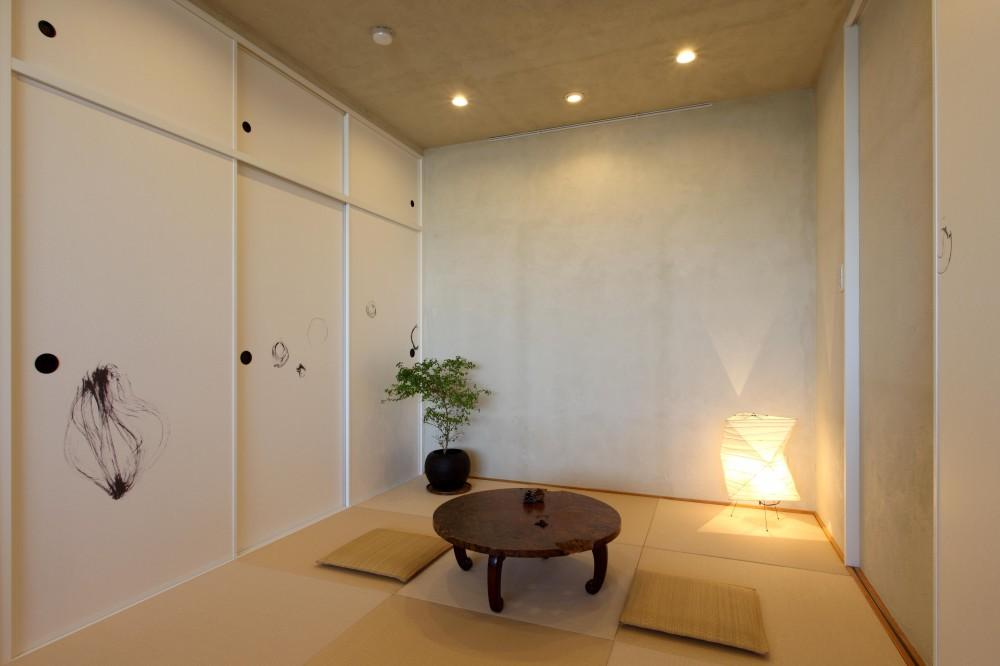 環境・アクセスに恵まれ、自然素材にこだわった住まい (和室)