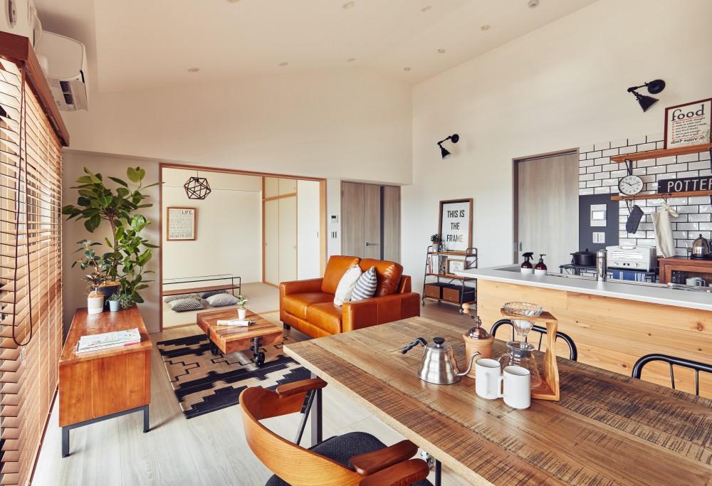 Reno-Bloom「リノベーション×インテリアで暮らしを楽しむ、こだわりのブルックリンスタイル」