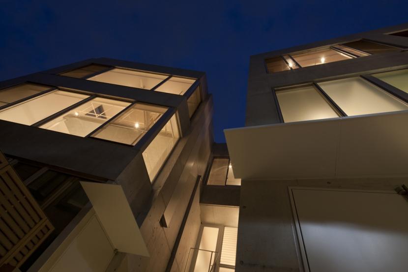 東松原のコーポラティブハウスCの写真 外観