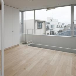 東松原のコーポラティブハウスC (ベッドルーム)