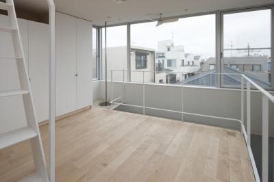 ベッドルーム (東松原のコーポラティブハウスC)