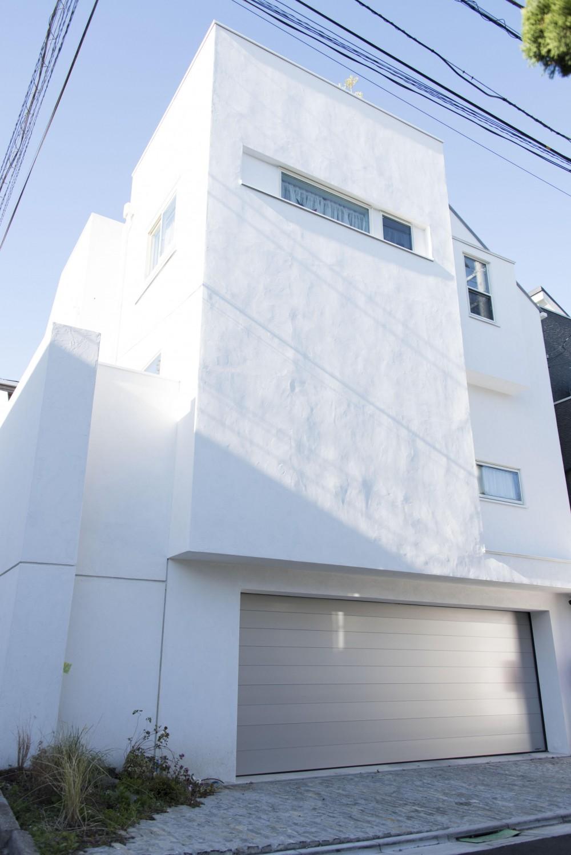 東京の住宅Ⅱ (外観)