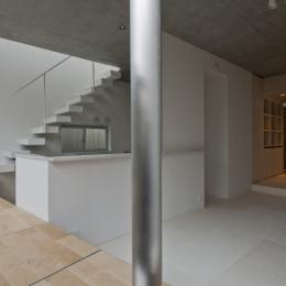東松原のコーポラティブハウスC (キッチン)