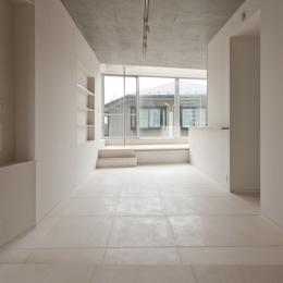 東松原のコーポラティブハウスC (リビング)