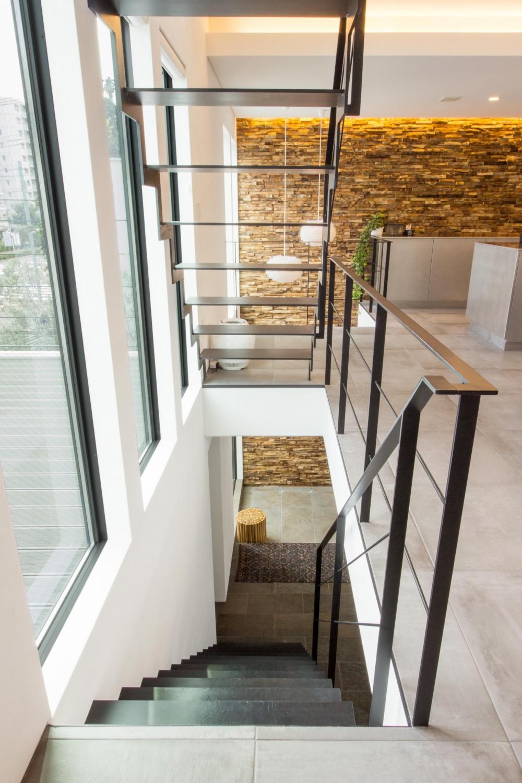 東京の住宅 (階段)