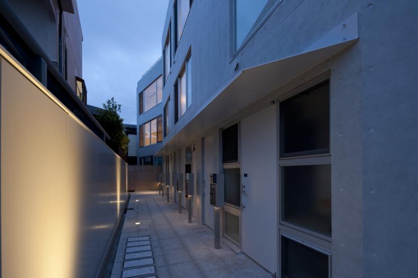 東松原のコーポラティブハウスBの写真 外観