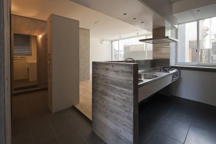 東松原のコーポラティブハウスBの部屋 キッチン