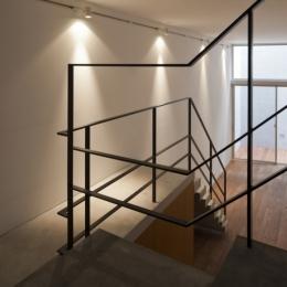 東松原のコーポラティブハウスA (階段)