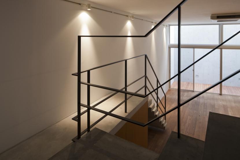 東松原のコーポラティブハウスAの部屋 階段