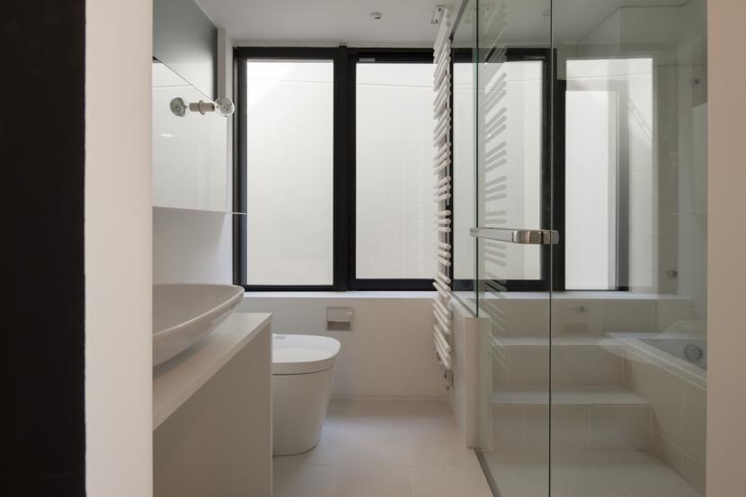下北沢のコーポラティブハウスEの部屋 洗面室
