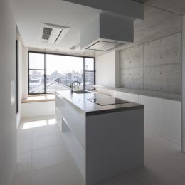 下北沢のコーポラティブハウスE (キッチン)