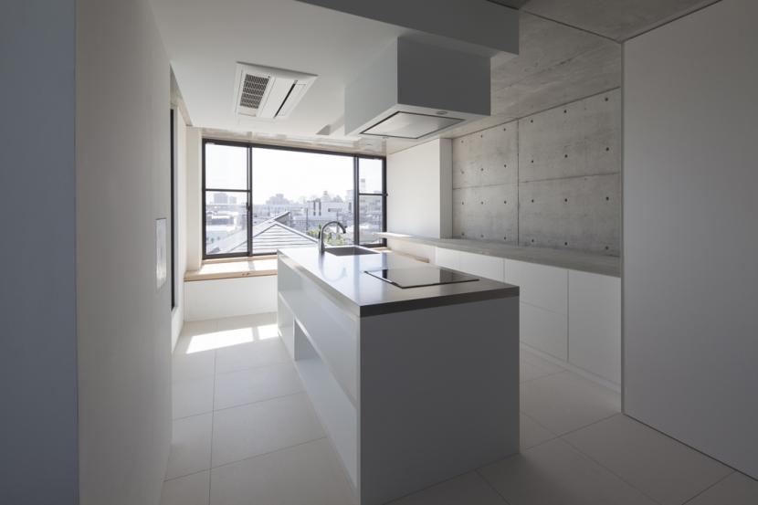 下北沢のコーポラティブハウスEの部屋 キッチン