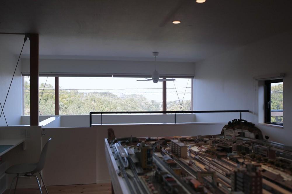 北大和の家 (趣味室 窓)