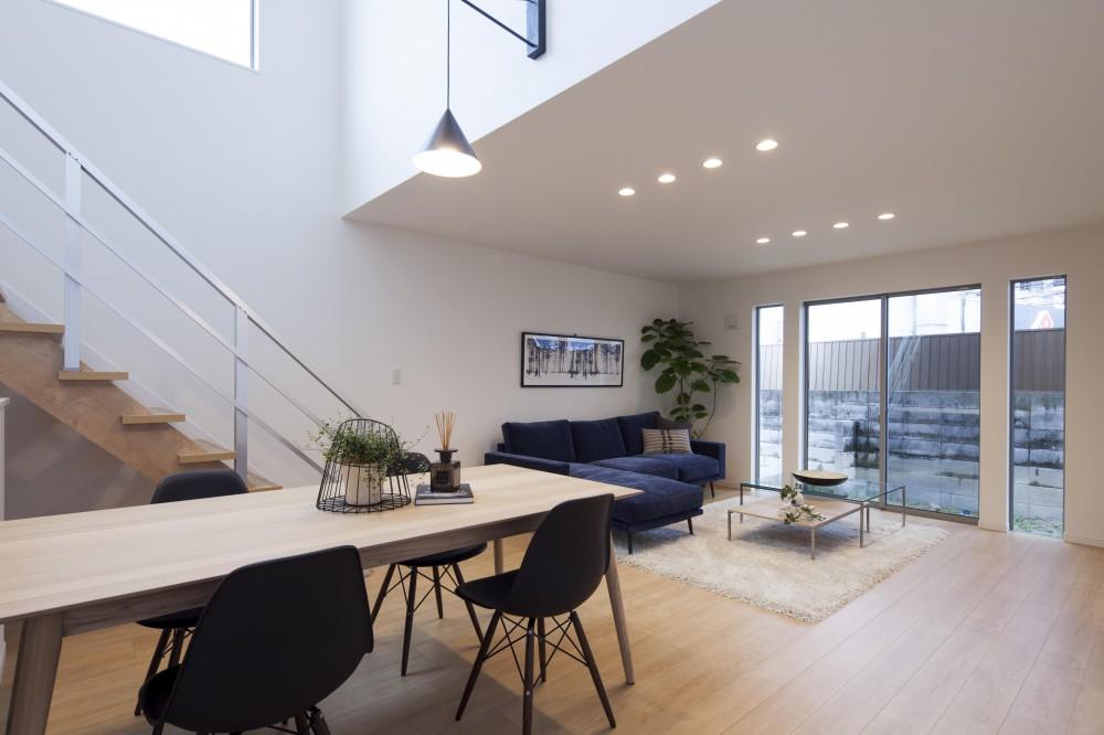 Depth Modern House (リビング)