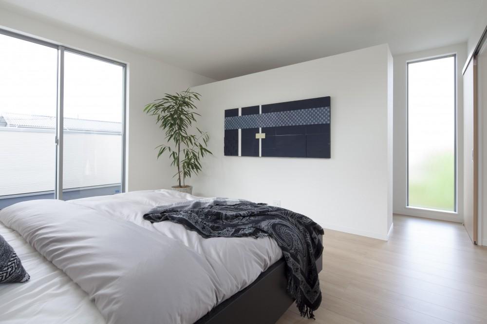 Depth Modern House (寝室)