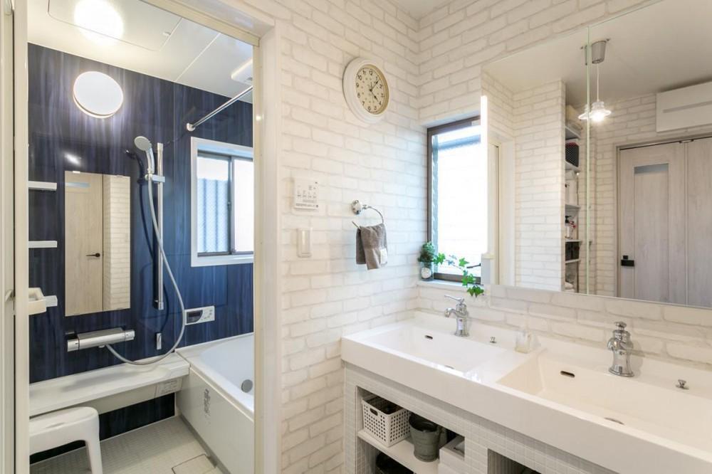 フォトジェニックな住まいへ (洗面室 浴室)