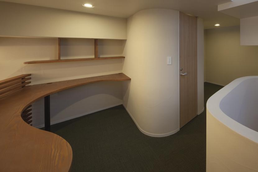 下北沢のコーポラティブハウスBの部屋 書斎
