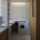 下北沢のコーポラティブハウスAの写真 洗面室