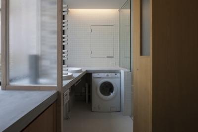 洗面室 (下北沢のコーポラティブハウスA)