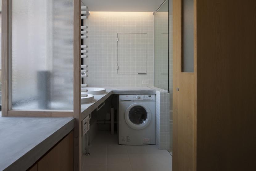 下北沢のコーポラティブハウスAの部屋 洗面室