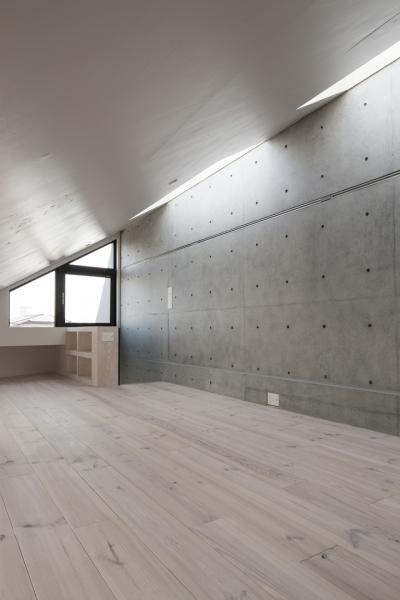 ベッドルーム (下北沢のコーポラティブハウスA)