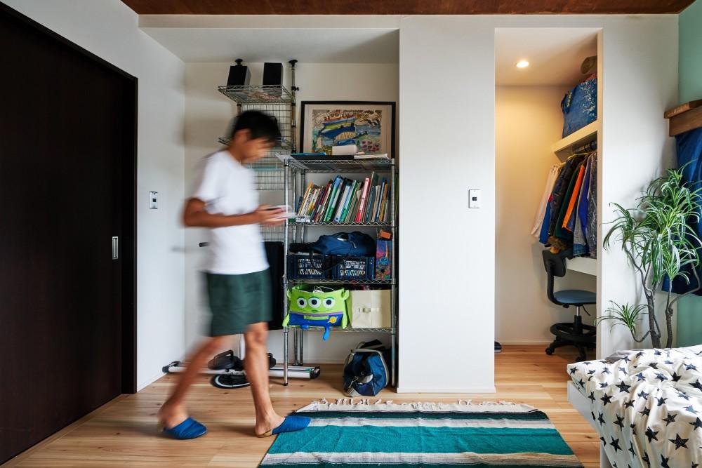 +DIYで作る戸建てリノベーション (子ども部屋)