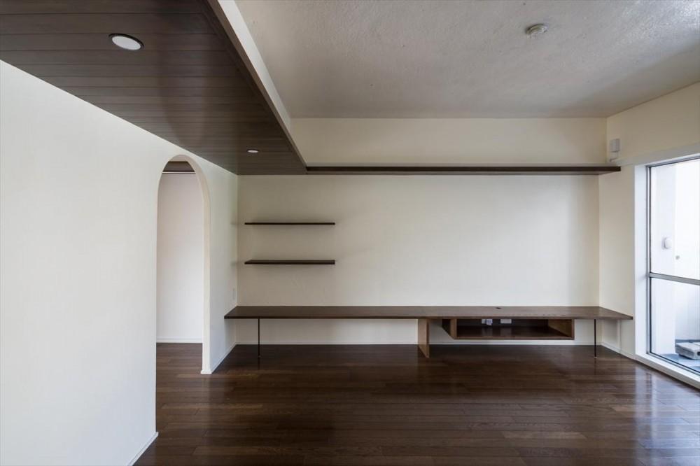 桜台ビレジリノベーション(横浜市青葉区S邸) (リビング)