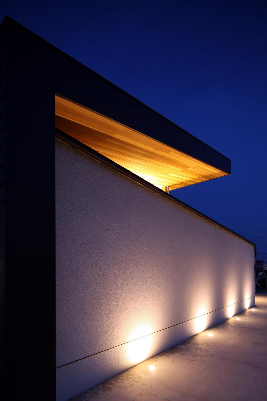 ファサード (津紬の家(つむぎのいえ)~大きな勾配屋根の家~)