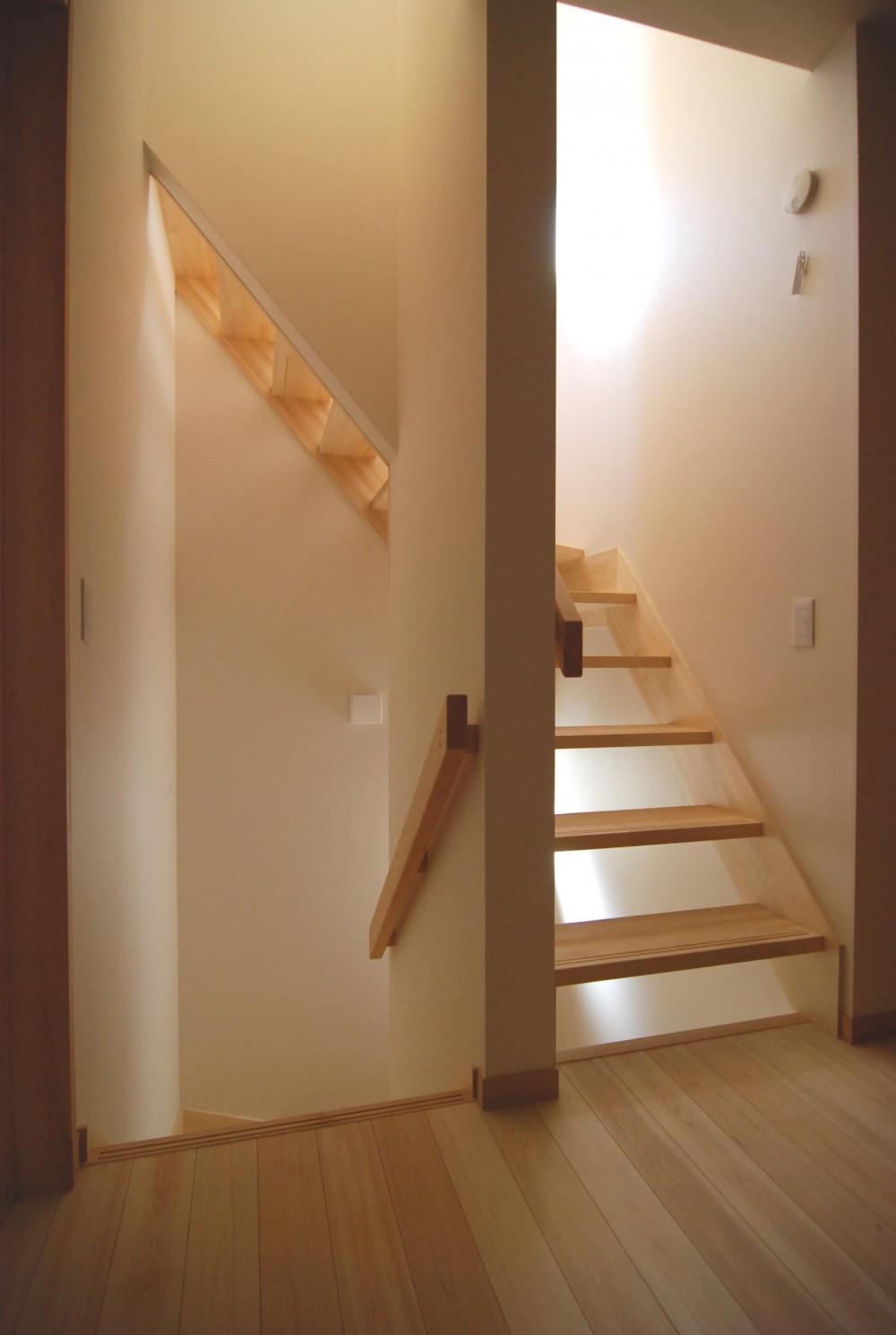親家の隣に建つ住まい~建築家紹介サイトでの出会い~ (階段2)