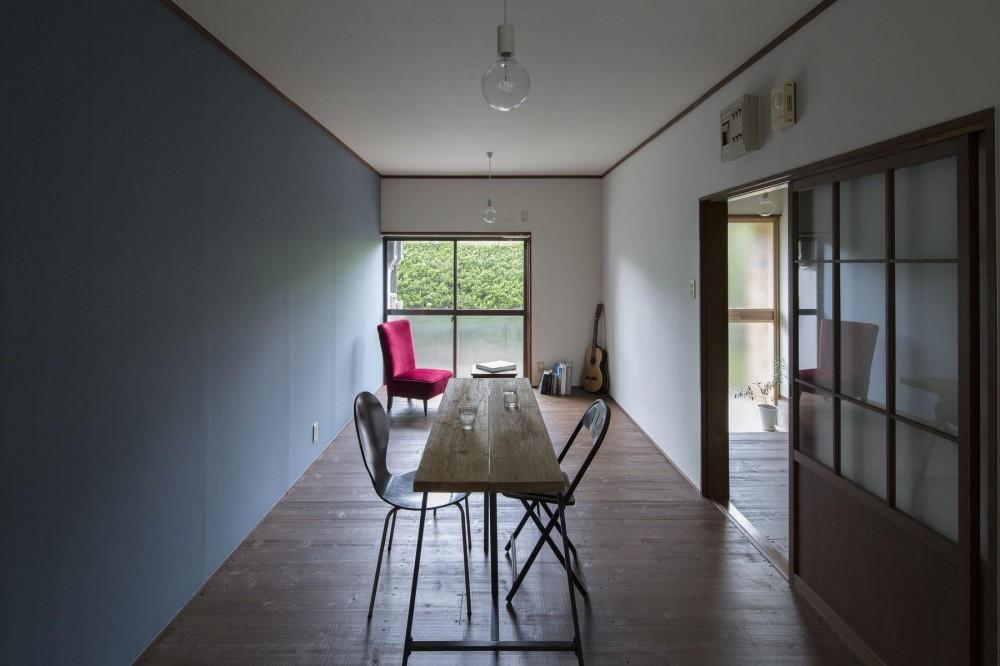 リビング (借家の家|賃貸向け一戸建てのローコストリノベーション【奈良市】)