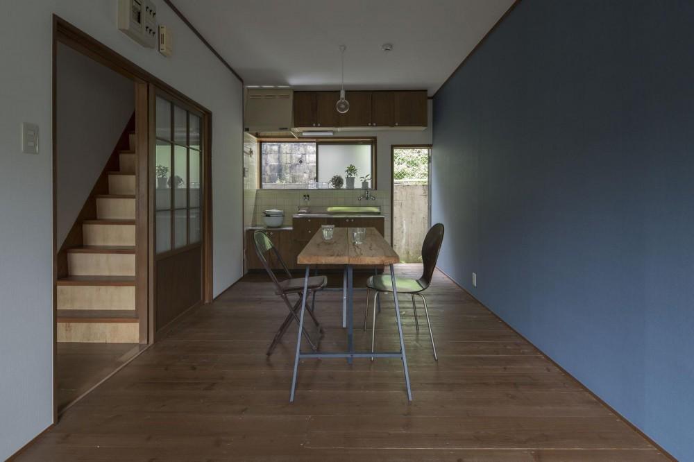 借家の家|賃貸向け一戸建てのローコストリノベーション【奈良市】 (レトロモダンなLDK)