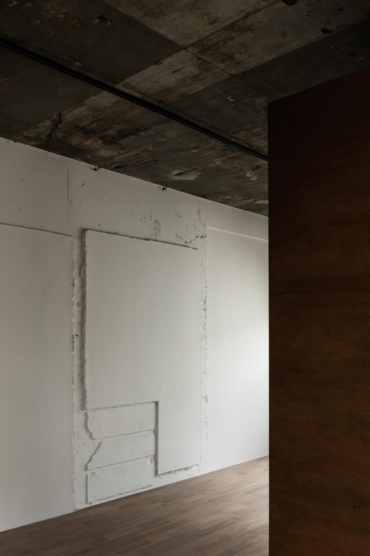 しかくの部屋Ⅰ (凹凸のある壁面。)